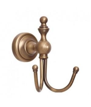 "Крючок двойной ""Richmond"" (латунь/bronze)"