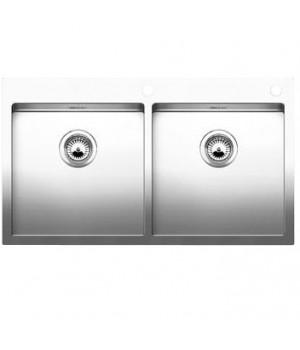 Мойка кухонная Blanco CLARON 400/400-IF/A 514206