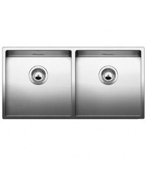 Мойка кухонная Blanco CLARON 400/400-IF/N 517230