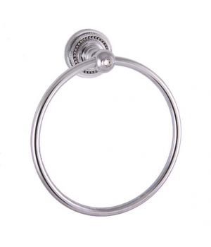 "Кольцо для полотенец ""САMEYA"" (Swarovski/латунь/chrome) H1408"