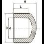 ПП Заглушка внутренняя FADO 20 PPZ01