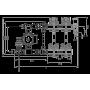 Комплект для подключения системы теплый пол FADO SEN12