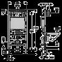 """Монтажный комплект для подвесного унитаза Geberit Duofix, H112, cо встроенным бачком """"Delta"""" 12см, клавиша смыва Delta 21, двойной смыв, белый"""