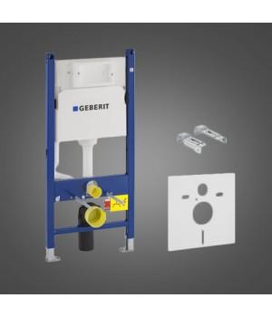 Монтажный комплект для подвесного унитаза Geberit Duofix, Н112, 12 см (UP100) без клавиши