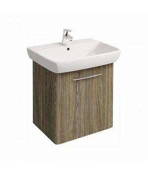Комплект: NOVA PRO умывальник 65 cм  прямоугольный + шкафчик серый ясень