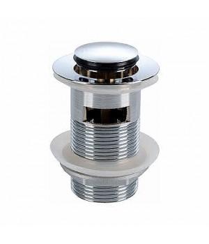 Сливной клапан push-open (для умывальников с переливом)
