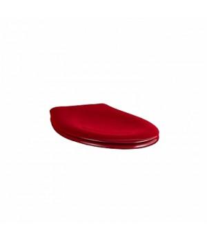 Сиденье с крышкой NOVA PRO JUNIOR, из материала Duroplast, красное