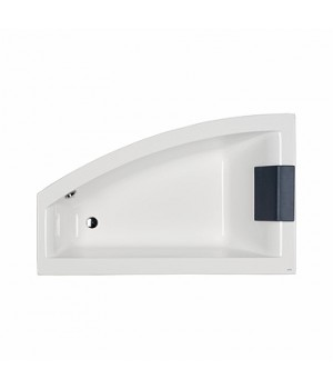 Асимметричная ванна CLARISSA, 160 x 100 см, левая
