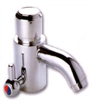 Кран-дозатор для умывальника, Тремо-463 С регулировкой холодная-горячая вода