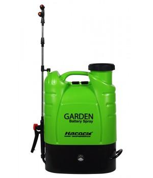 Опрыскиватель ренцевый аккумуляторный Насосы+Оборудование GARDEN Bttery Spray 16S