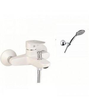 Смеситель для ванны Santan KEVON CHIC 81BC8150 White