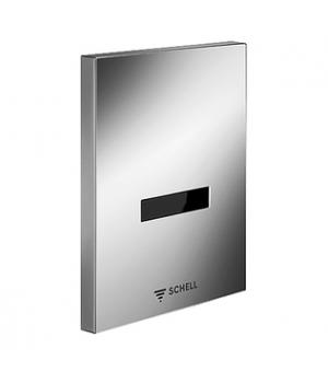 Сенсорная панель для смыва писсуара SCHELL EDITION батарея 9 V, нерж 028072899
