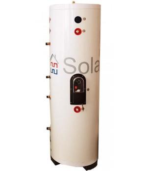 Двухконтурный бак-накопитель косвенного нагрева объёмом 150 литров