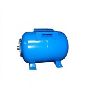 Гидроаккумулятор 100л VOLKS pumpe 10bar горизоннтальный (с манометром)