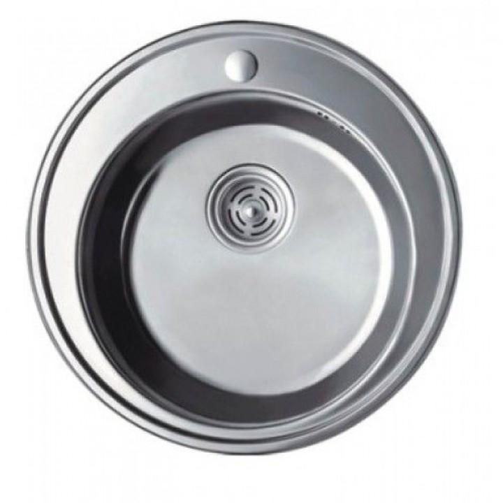 Мойка кухонная HAIBA 490 polish