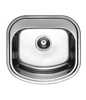 Мойка кухонная HAIBA 49x47 polish
