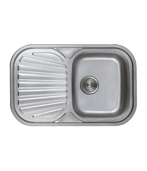Мойка кухонная HAIBA 74x48 polish