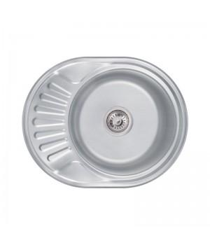 Кухонная мойка Lidz 6044 Decor 0,8 мм (LIDZ5745DEC)