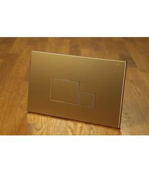 Кнопка смыва инсталяции NKP золотая