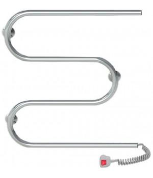 Полотенцесушитель электрический Q-TAP Snake (CRM) 500х500 RE
