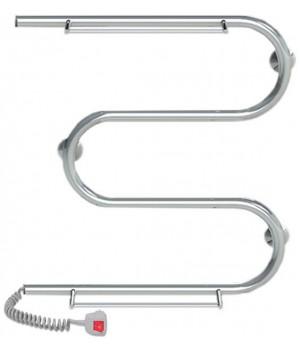 Полотенцесушитель электрический Q-TAP Snake shelf (CRM) 500x500 LE