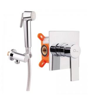 Смеситель для гигиенического душа Q-tap Form CRM 001AB SQ