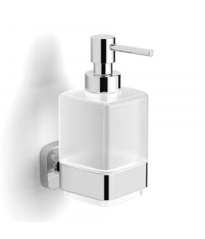 Дозатор для жидкого мыла VOLLE Teo матовое стекло/хром