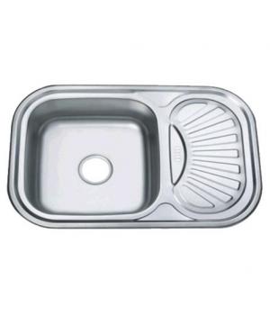 Мойка кухонная ZERIX Z7549-08-180E satin